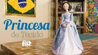 getlinkyoutube.com-Princesa de Tecido (Luciana Kummer)