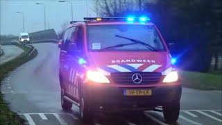 getlinkyoutube.com-(Auto gaat niet aan de kant) hulpdiensten met spoed naar een meting in Zwijndrecht