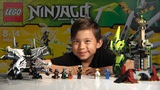 getlinkyoutube.com-EPIC DRAGON BATTLE - Lego Ninjago Set 9450 - Unboxing, Review & Time-lapse build
