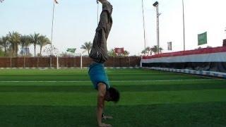 getlinkyoutube.com-تعلم الوقوف علي اليدين من الصفر للاتقان مع نسر الكونغ فوperfect handstand tutorial