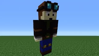 getlinkyoutube.com-Minecraft 360: How To Make A TheDiamondMinecart Statue