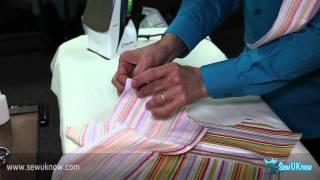 getlinkyoutube.com-How To Sew A Shirt Yoke