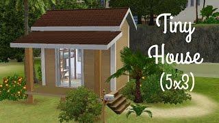 getlinkyoutube.com-Sims 3 House Building - Tiny House 5x3