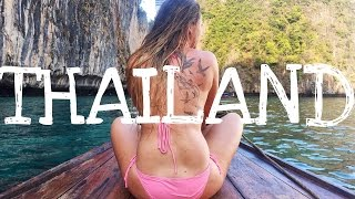 getlinkyoutube.com-Official Thailand Travel Montage | Full Moon Beach Party , Maya Bay Boat Adventures , Fire Dance