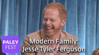 getlinkyoutube.com-Modern Family - Jesse Tyler Ferguson Can't Stop Laughing