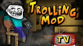 getlinkyoutube.com-TROLL MOD W MINECRAFT !? Troll Staff