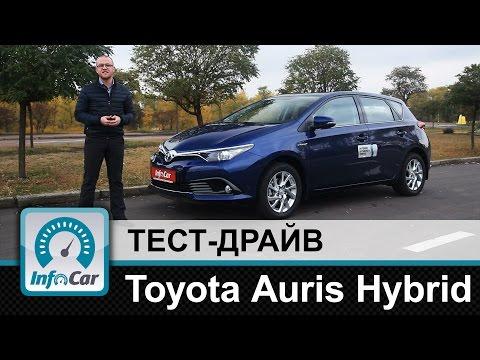 Toyota Auris Hybrid - тест-драйв Тойота Аурис Гибрид
