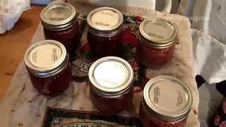 getlinkyoutube.com-Homemade Strawberry Jam (Low Sugar) - Canning What You Grow
