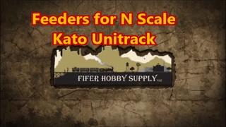 getlinkyoutube.com-Feeders for N Scale Kato Unitrack