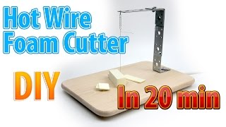 getlinkyoutube.com-DIY Hot Wire Foam Cutter for handicraft in 20 minutes