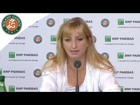 Roland-Garros 2016 Press conference Bacsinszky / R2