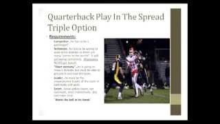 Triple Option Quarterback Play From The Shotgun Formation