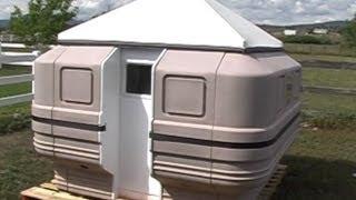 getlinkyoutube.com-Teal Portable Shelter