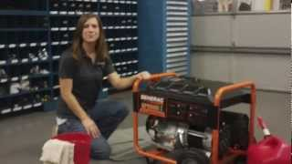 getlinkyoutube.com-Troubleshooting a Generac Portable Generator with Stale Gasoline