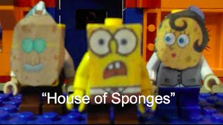 "getlinkyoutube.com-Lego spongebob episode 5 "" House of Sponges"""