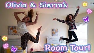 getlinkyoutube.com-NEW Room Tour! (Sierra & Olivia)