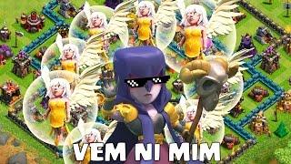 getlinkyoutube.com-Clash of Clans - 8 BRUXAS E 12 CURADORAS