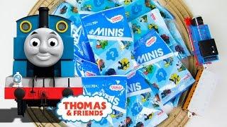 getlinkyoutube.com-Thomas and Friends Minis Blind Bag Surprise Figures Part 2