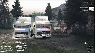 SpinTires-Обзор мода(Камаз 54115)