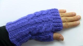 getlinkyoutube.com-تريكو يدوي - طريقة عمل قفازات - (الجزء الثاني)