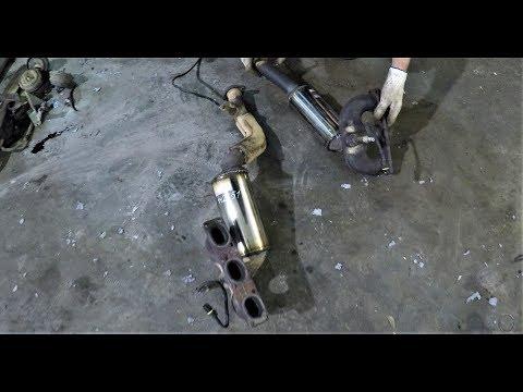 BMW E46 ВЫХЛОП, КАТАЛИЗАТОРЫ