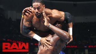 getlinkyoutube.com-Darren Young vs. Titus O'Neil: Raw, Aug. 8, 2016