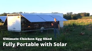 getlinkyoutube.com-Ultimate Chicken Egg Shed - Fully Portable With Solar