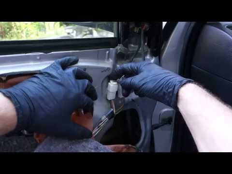 How to replace electric side mirror Toyota Corolla. Years 2002 to 2010