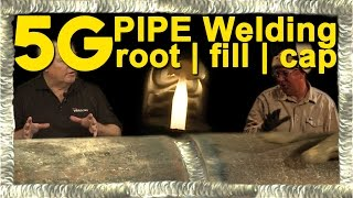 getlinkyoutube.com-5G Pipe Welding - TIG Root and Fill with MIG Cap | TIG Time