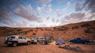 """getlinkyoutube.com-رحلة من الكويت إلى سكاكا والجوف في السعودية """" كشتة """""""