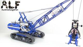 getlinkyoutube.com-Lego Technic 42042 Crawler Crane / Seilbagger - Lego Speed Build Review