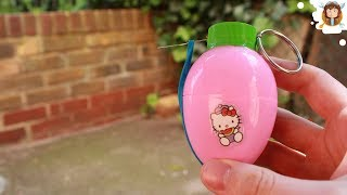 getlinkyoutube.com-How to make a Airsoft Grenade with a Surprise Egg