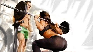 getlinkyoutube.com-Partner Crossfit Workout - Fitness Training mit Nadine & Alon