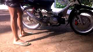 getlinkyoutube.com-Yamaha F1ZR (Force-1) Karbu dan Valve Error