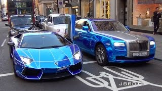 getlinkyoutube.com-The Great Arab Supercar Invasion in London, Summer 2015