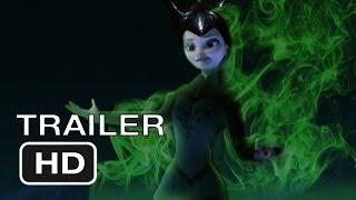 getlinkyoutube.com-Elsa is... Maleficent ( Maleficent & Frozen CROSSOVER TRAILER )