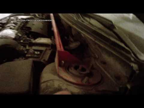 Скрип стойки Lancer X