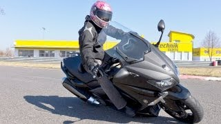 Yamaha T-MAX 530 Scooter Test