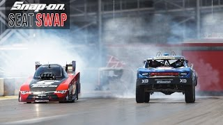 Swapping a Trophy Truck & Nitro Funny Car ft. Cruz Pedregon and Bryce Menzies | Snap-on Tools