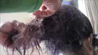 getlinkyoutube.com-More than 6 months Matted Hair, More than 1 day Detangling