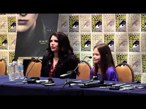 Breaking Dawn Part 2 Comic Con 2012 Panel #3 - Robert Pattinson, Kristen Stewart, Taylor Lautner