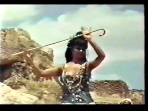 Egyptian dancer Mona Said Stick dance early 1970s