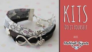 getlinkyoutube.com-Kit DIY : vidéo de création d'un bracelet tissu Liberty