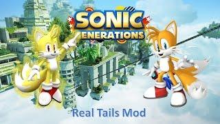 getlinkyoutube.com-Sonic Generations Mod Part 32_ Real Tails Mod