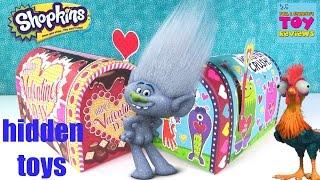 getlinkyoutube.com-Disney Moana Trolls Shopkins Tsum Tsum Lego Blind Bag Surprises   PSToyReviews