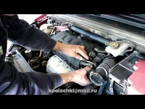 Устранение течи вакуумного насоса автомобиля Peugeot