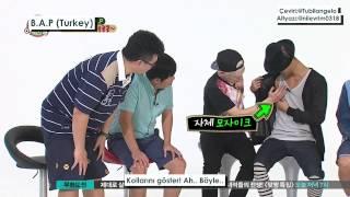 getlinkyoutube.com-[130904] Weekly Idol - B A P (Turkish Subtitle)
