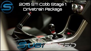 getlinkyoutube.com-Subispeed - 2015 STI Cobb Stage 1 Drivetrain Package Install