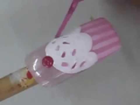 สอนเพ้นท์เล็บ ลายคัพเค้ก Cute Cupcake Nail Art