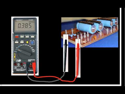 Measurement of Voltage, Current, and Resistance